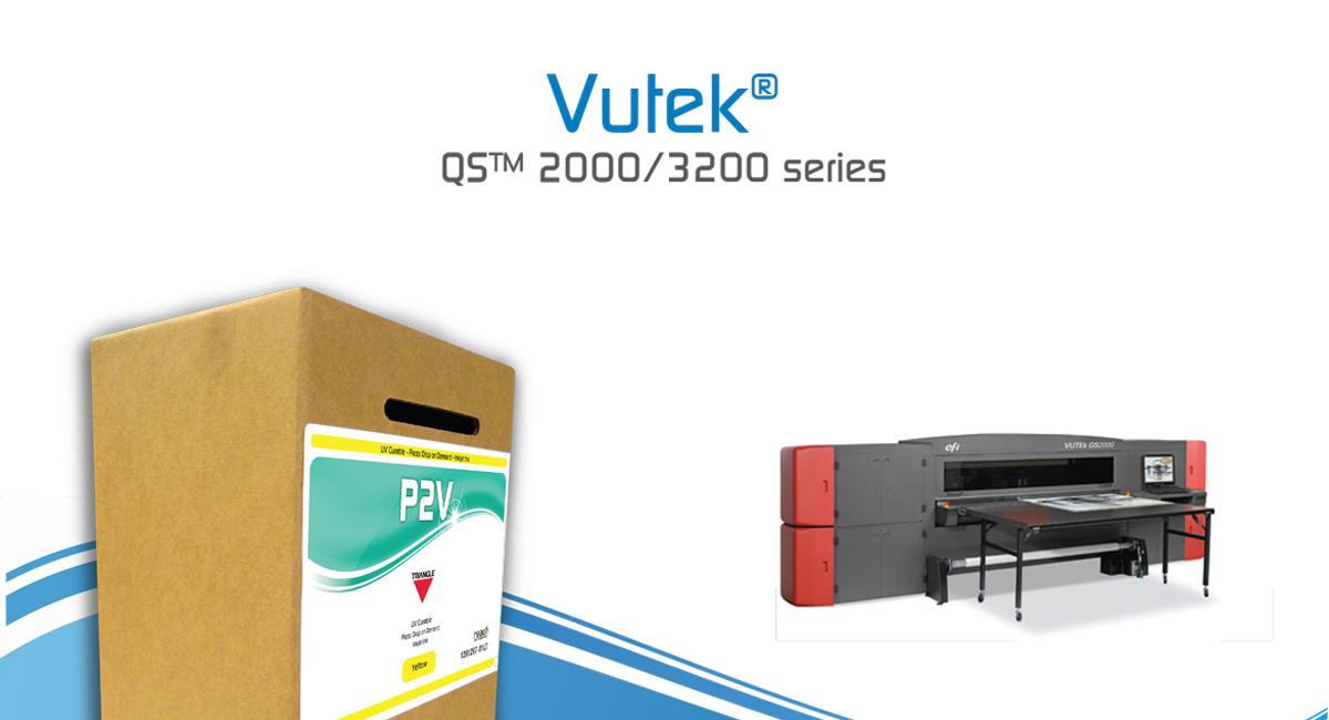 Triangle Inks for Vutek