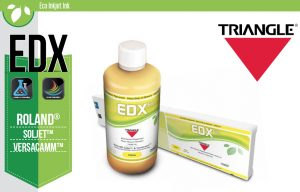 Triangle EDX Inks for Roland