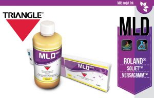 Triangle MLD Inks for Roland
